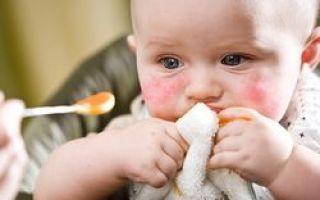 Не проходит аллергия на лице у грудничка