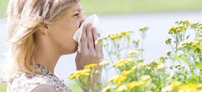Диета при аллергическом рините