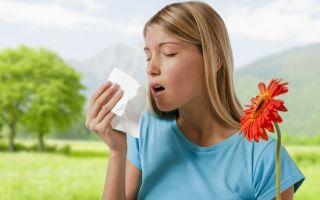 Сезонное заболевание – аллергия на пыльцу