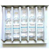глюконат кальция применение уколы