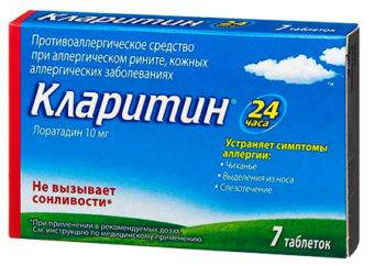 Кларитин: инструкция по применению препарата