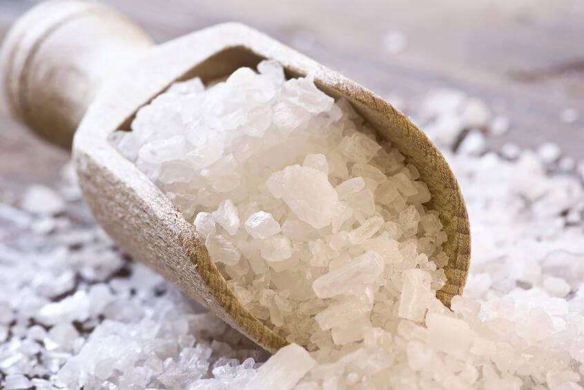 Морская соль от зуда