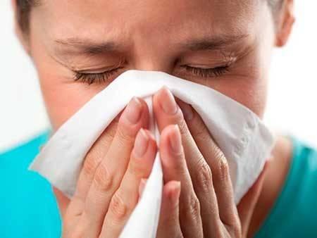 Приступы аллергии