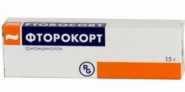 Мазь Фторокорт в упаковке