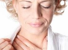 Почему у вас болит горло из за аллергии?