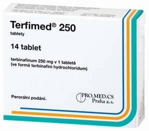 Таблетки Терфимед