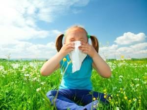 Аллергия на пыльцу у ребенка