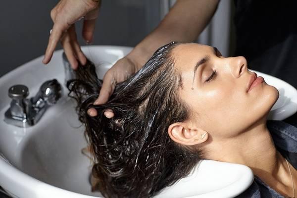 как мыть голову