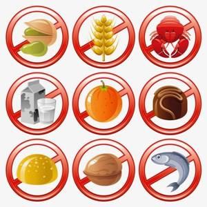 запрещекнные продукты при крапивнице