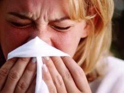Аллергический ринит у женщины