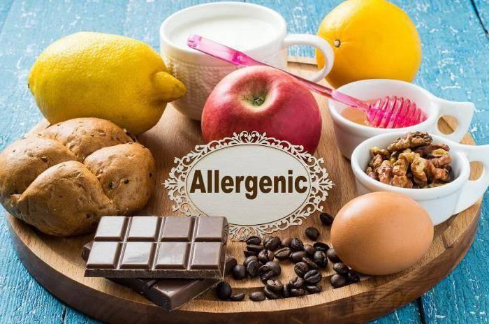 диета при аллергии особенности
