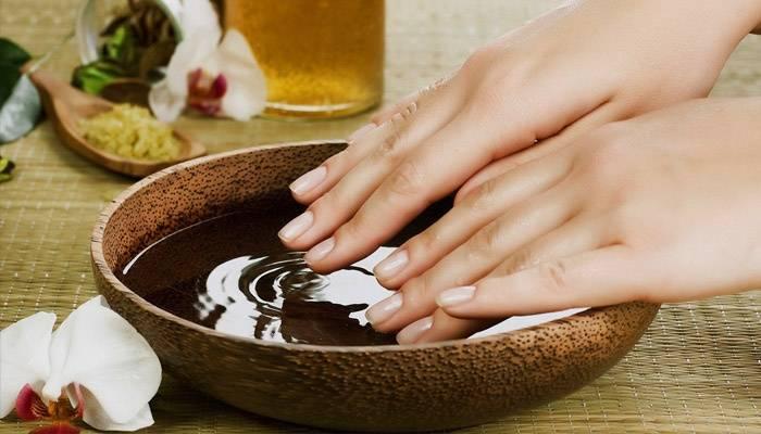 Ванночка для лечения ногтей после гель-лака