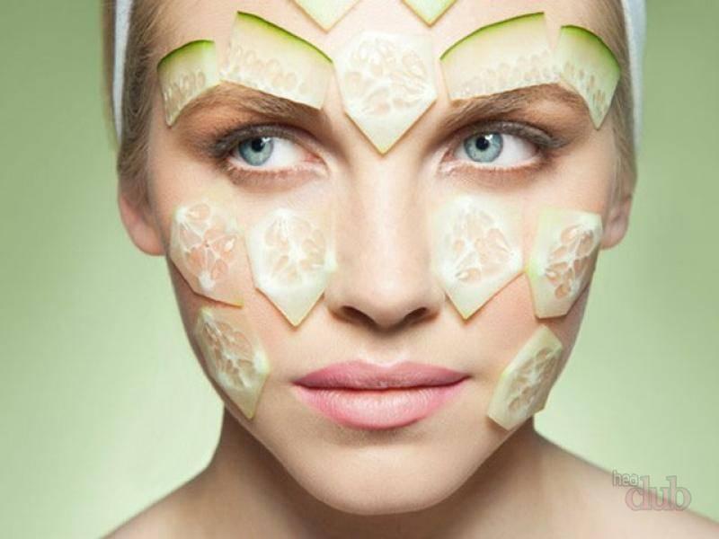 Травяные и огуречные маски успокаивают кожу