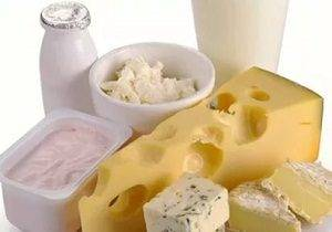 аллергия на молочные продукты