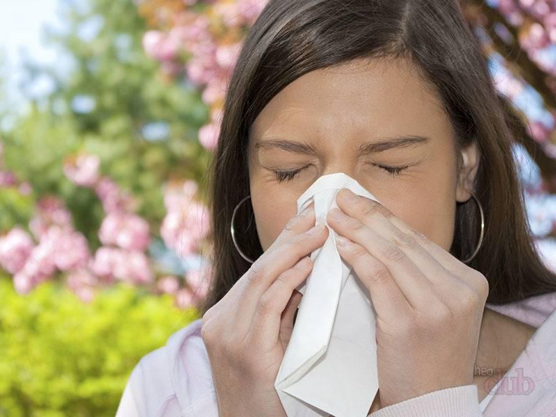 Аллергия может причинить серьезный дискомфорт