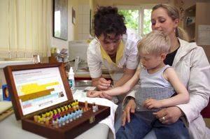 Способы проведения аллергических исследований для детей
