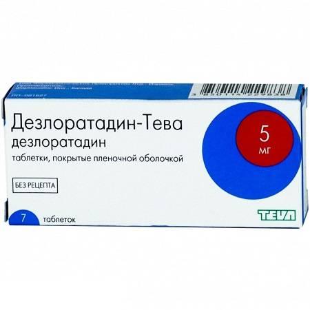 Таблетки от аллергии все названия