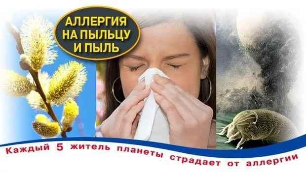Народные средства от аллергии на пыльцу