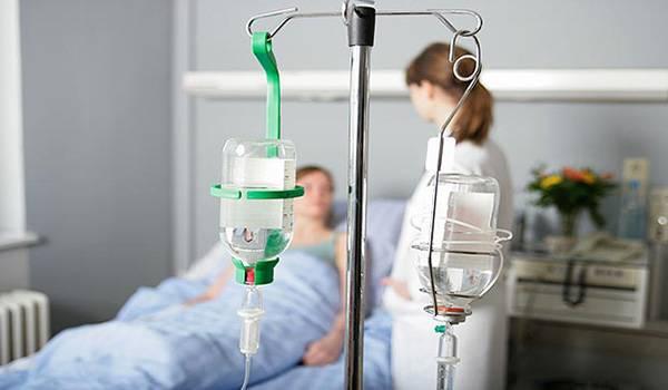 хлорид кальция вводится внутривенно