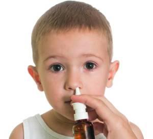 Спрей от аллергии для детей