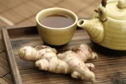 Имбирный чай для лечения аллергии на пыльцу