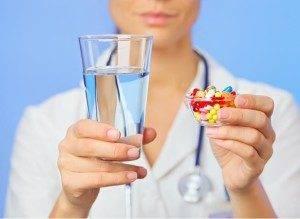 Противовирусные средства в виде порошков и таблеток