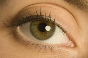 Здоровое глазное яблоко
