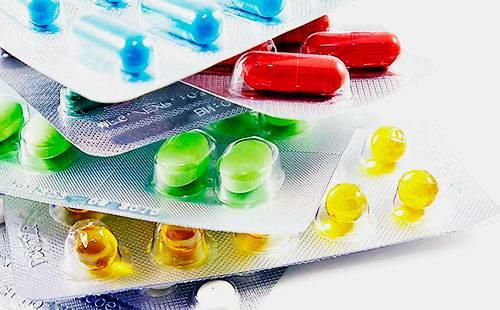 Таблетки в блистерах