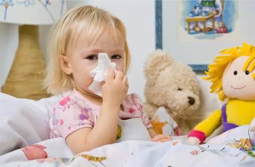 насморк у девочки, лечение бронхиальной астмы