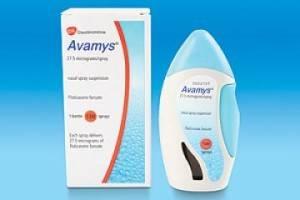Спрей против аллергии Авамис