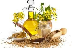 Льняное масло для приготовления мази от аллергии