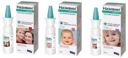 Список капель в нос от аллергии для детей
