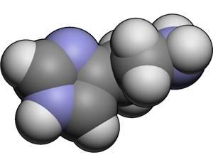 Молекула гистамина