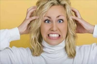 Обострение на аллергию на краску для волос