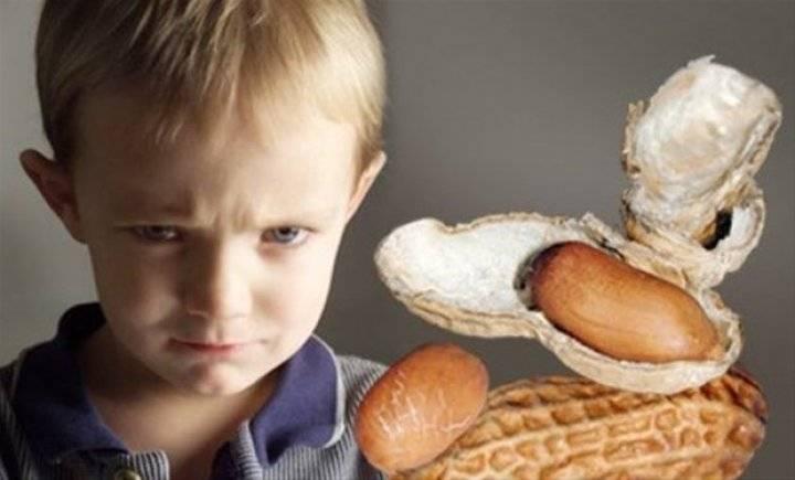 Аллергия на орехи у детей
