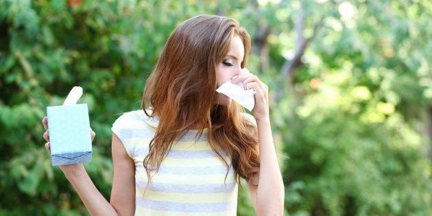 поллиноз — причины аллергии
