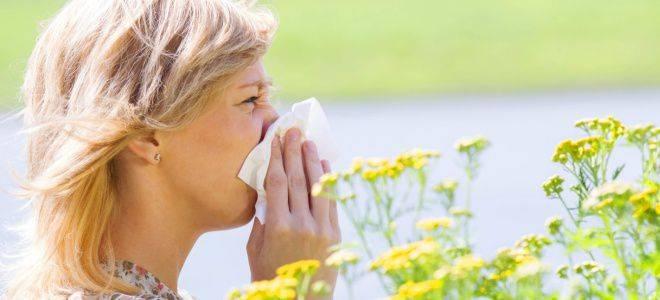 Причины аллергии на пыльцу