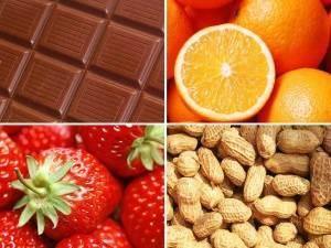 Продукты вызывающие аллергию у ребенка
