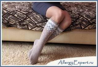 аллергия на овечью шерсть симптомы