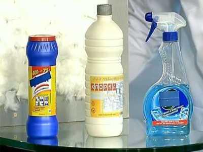 Моющие средства с хлором