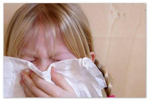 Аллергический насморк.