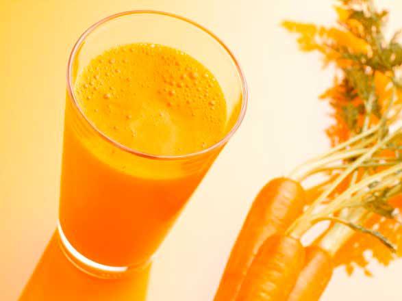 Может быть аллергия на морковку