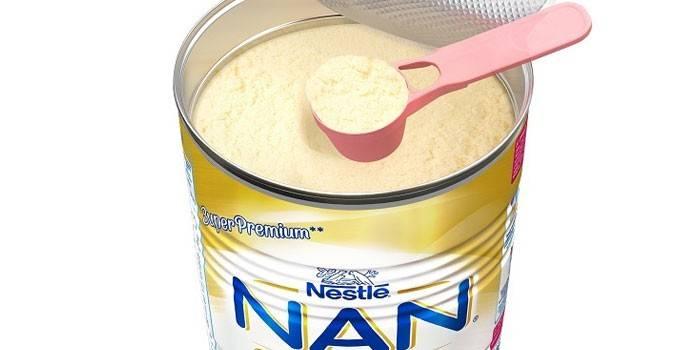 Гипоаллергенная смесь Нан