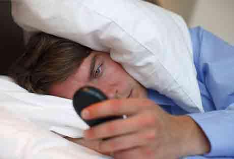 Недостаток сна - причина усталости