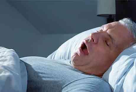 Синдром ночного апноэ