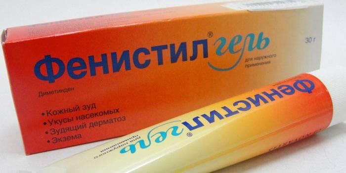 Мазь от аллергии - Фенистил