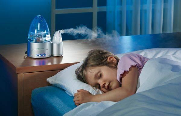 Увлажняйте воздух от боли в горле