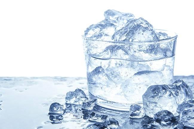 Лед при кожном зуде, фото