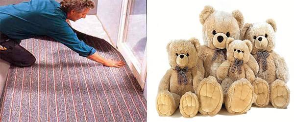 ковровые покрытия и мягкие игрушки как провокаторы аллергии