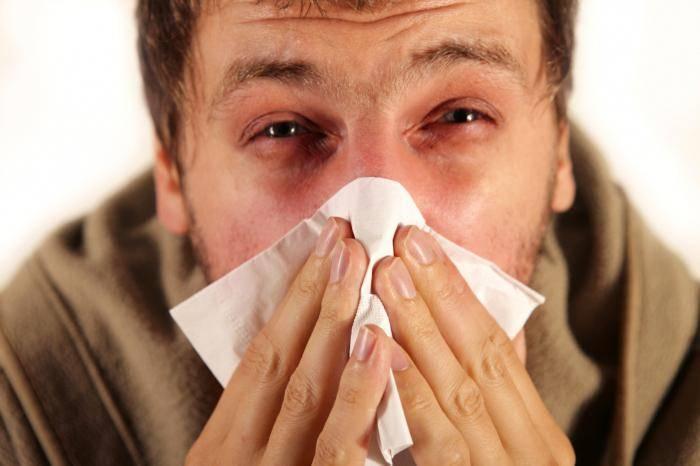 Аллергический насморк, симптомы